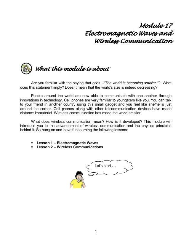 Module 17 wireless communication