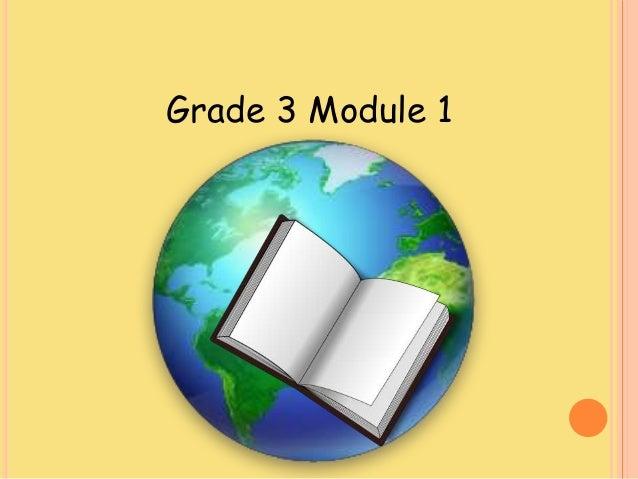 Module 1 ela lesson 1
