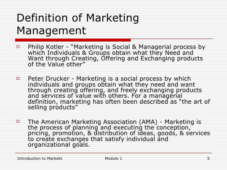 definitions of marketing Definition of marketing in us english - the action or business of promoting and selling products or services, including market research and advertising.