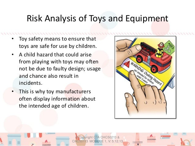 Safety First Toys And Equipment • Toy Safety