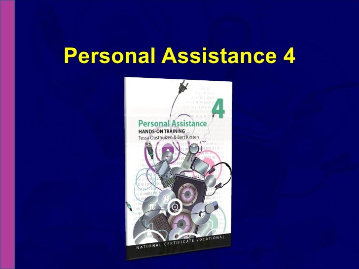 NCV 4 Personal Assistance Hands-On Support - Module 2