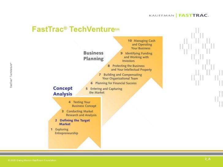FastTrac ®  TechVenture tm 2_A