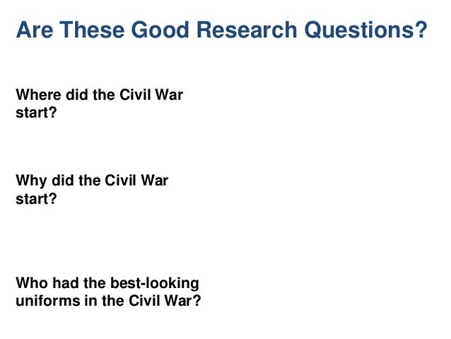 What r some good research topics?