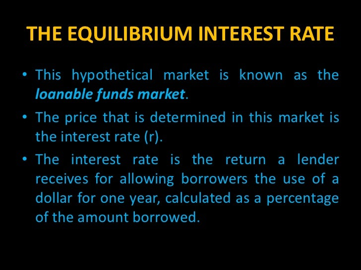 loanable funds market in australia The tables describe an economy's labour market and its  affect the demand for loanable funds,  in australia is 2 per cent a year and the.