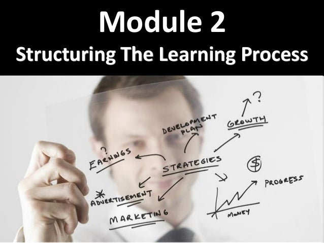 1 Module 2 Structuring The Learning Process