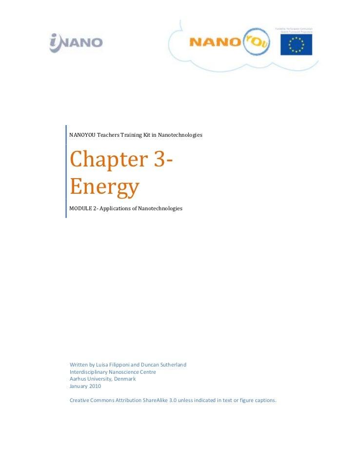NANOYOUTeachersTrainingKitinNanotechnologies    Chapter3‐     Ene...