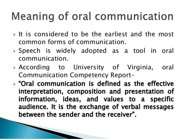 oral and written communication essay Importance of written communication essay 3 importance of written communication as compared reports etc oral communication is a type of.