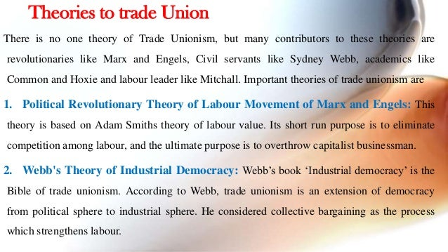 trade union movement in india The essay then gives a more detailed presentation of crucial issues which are  particularly relevant to the trade union movement in india today.