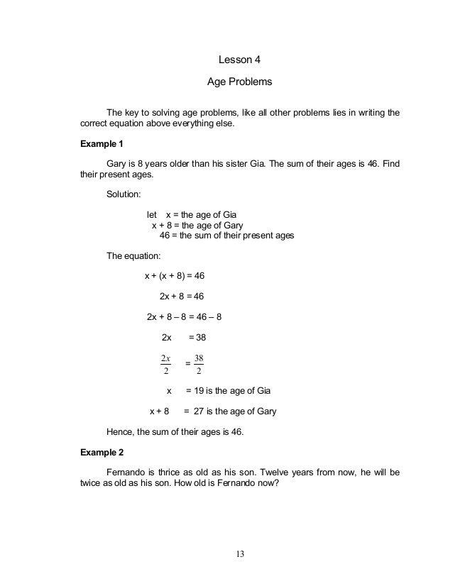 Consecutive Even Integer Problems