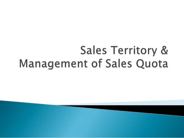      Is defined as a group present and potential customers assigned to an individual salesperson, a group of salespers...