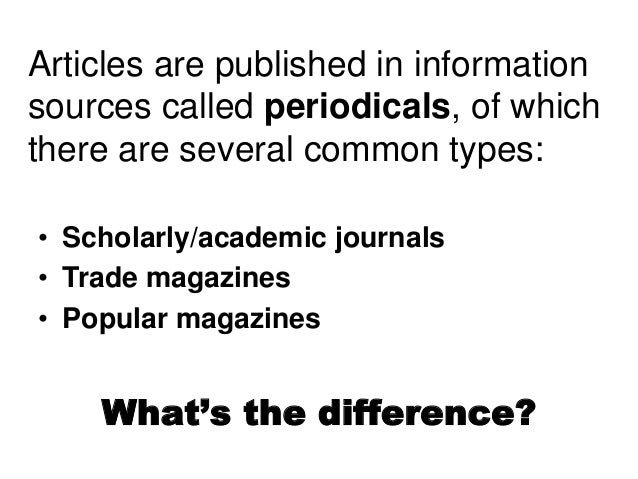 Online PERIODICALS / ARTICLE source?