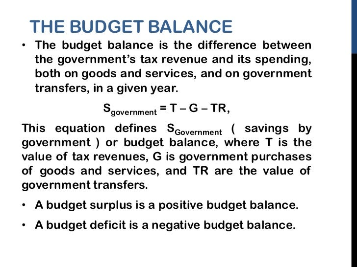 Econ Balanced Budget Question?