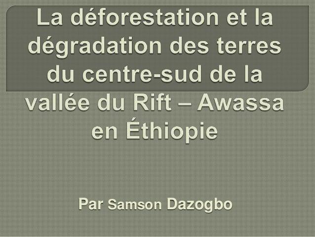 Par Samson Dazogbo