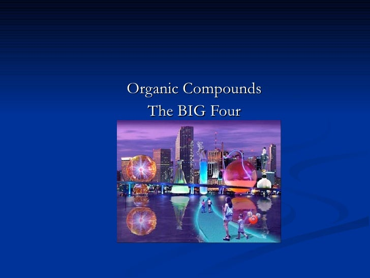 Module 3, lesson 1 organic compounds c 1