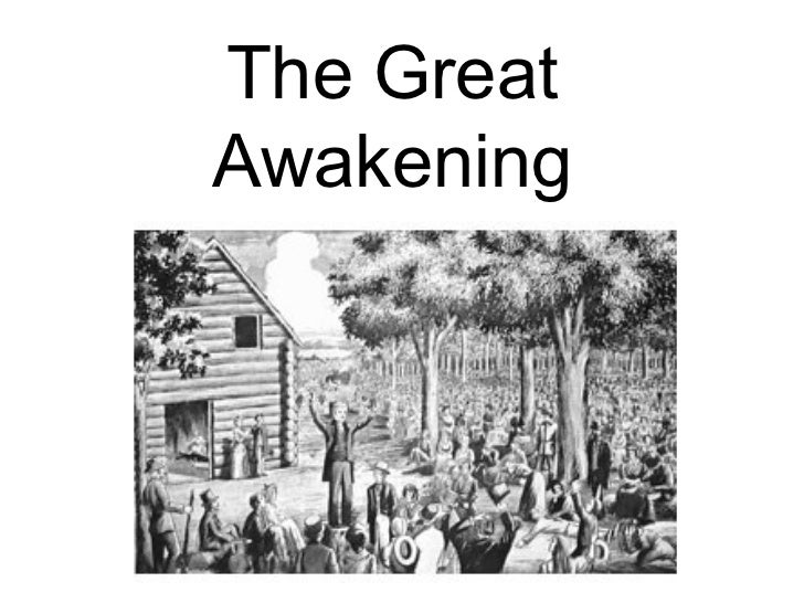 Module 3 the great awakening in the colonies