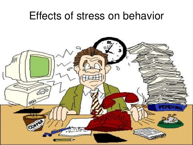 the effect of stress on our Stress is a normal part of life many events that happen to you and around you --  and many things that you do yourself -- put stress on your body.