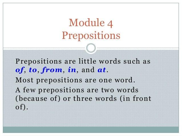 Module 4 lesson 4.1