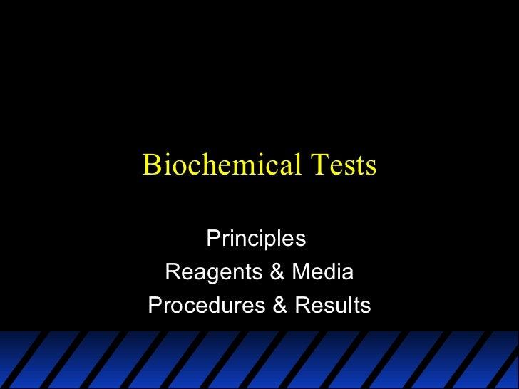 Module 5a   biochemical activities