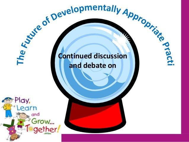 developmentally appropriate practice in early childhood programs pdf
