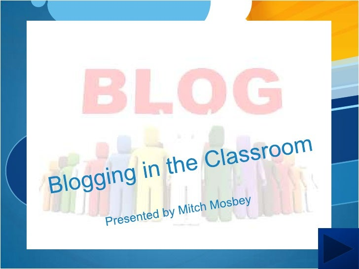 Navigation Site/Home    Blogging for     Enhanced          Blog It: An   Teaching and     Innovative Way     Learning     ...