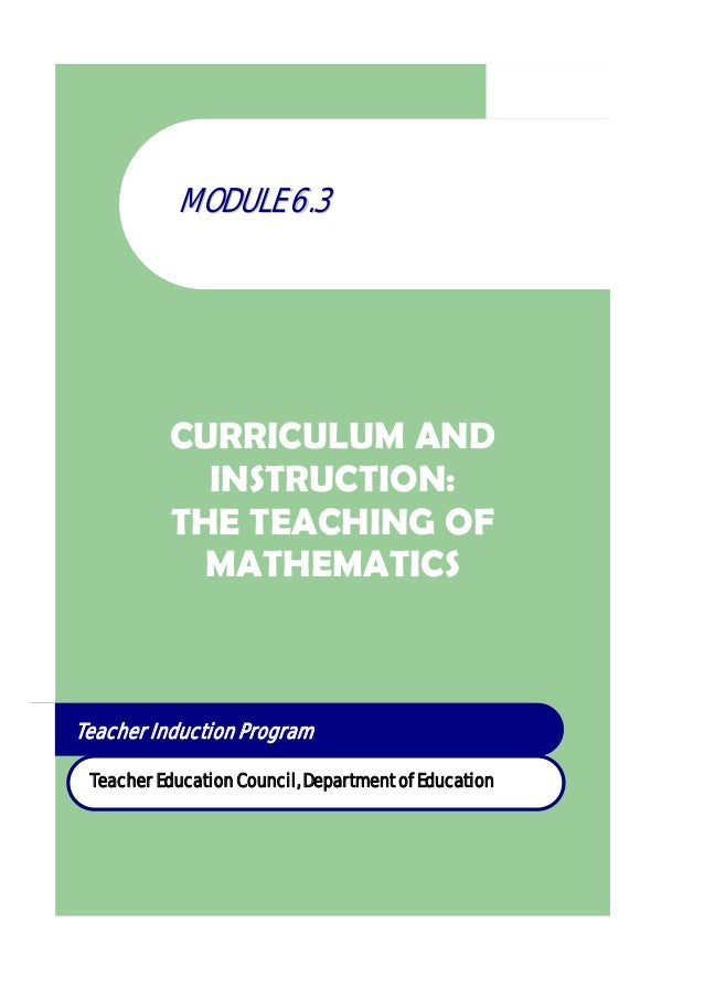 Module 6.3 mathematics