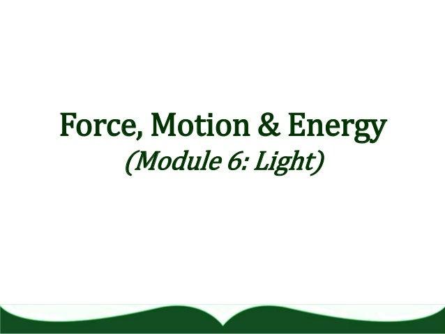 Module 6   light