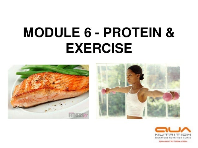 Module 6   mcc sports nutrition credit course- protein and exercise
