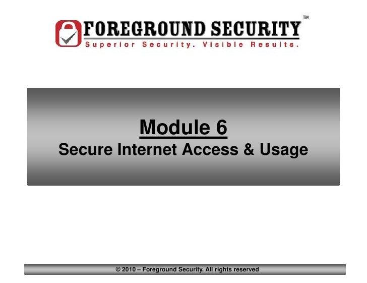Module6 secure internet-b