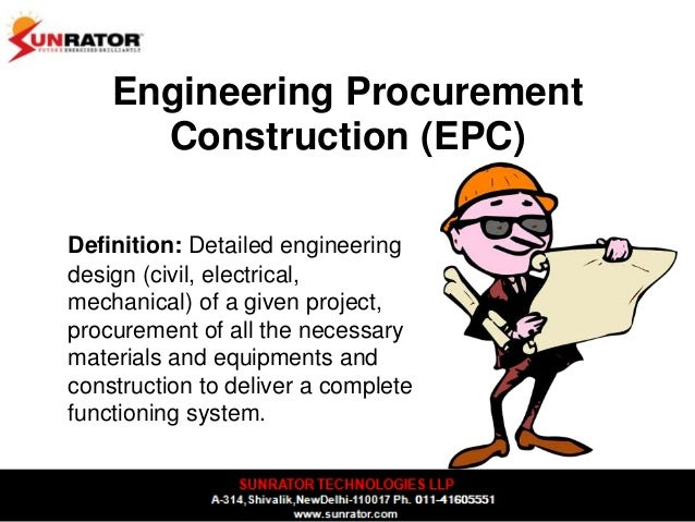Dpr detailed project report epc engineering for Definition construction