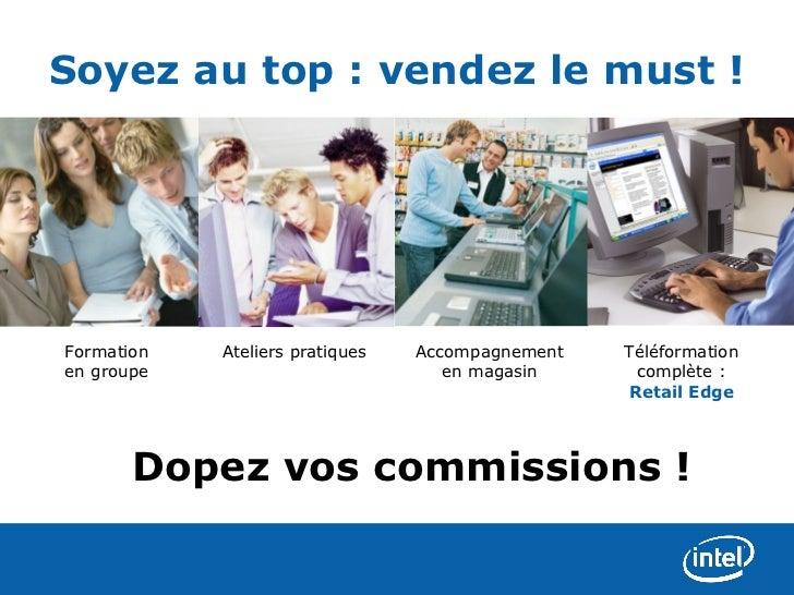 Soyez au top : vendez le must !Formation   Ateliers pratiques   Accompagnement   Téléformationen groupe                   ...