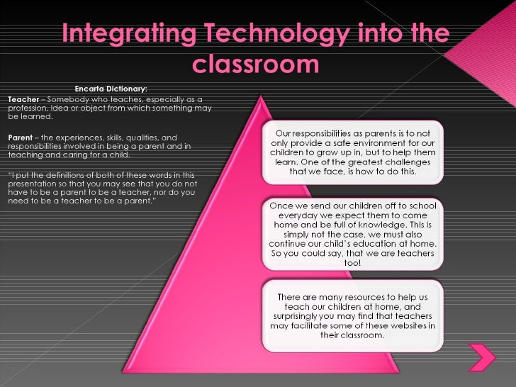 Module 6 W200 Integrating Technology Into The Classroom