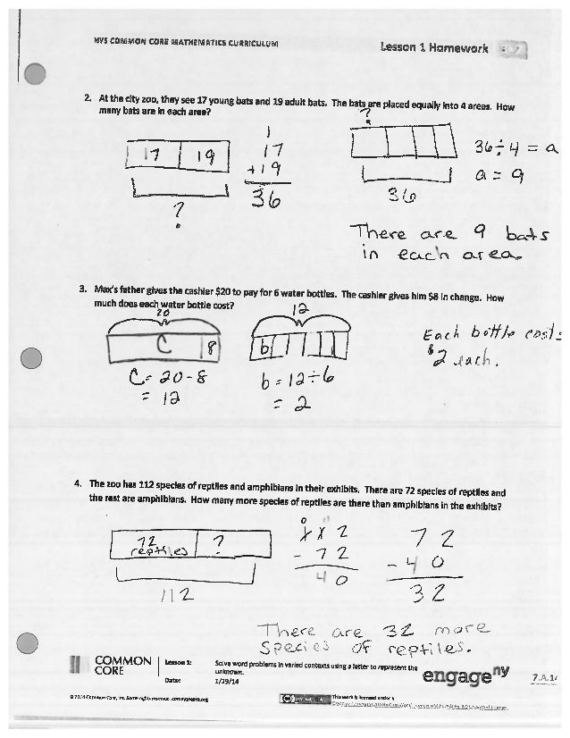 module 1 homework 2015-16 lesson 1 : reason concretely and pictorially using place value understanding to relate adjacent base ten units from millions to thousandths 5•1 3 a student used his place value chart to show a number.
