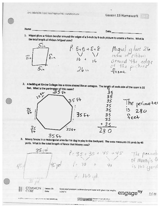 Eureka Math Grade 3 Module 4 Lesson 15 - grade 8 ...