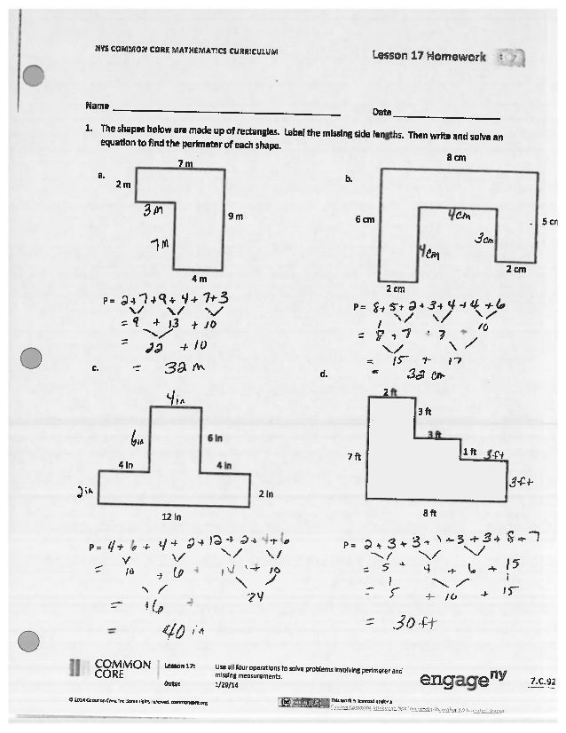 5th grade math lesson plans common core