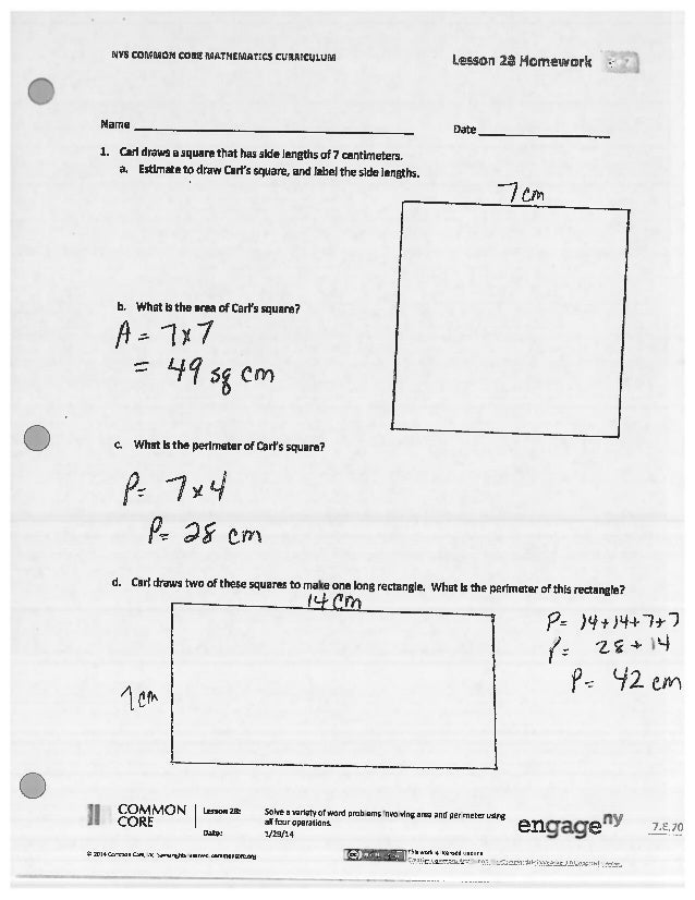 Homework lessons