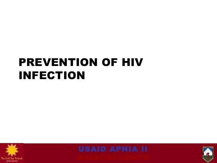 Module 7 prevention of hiv