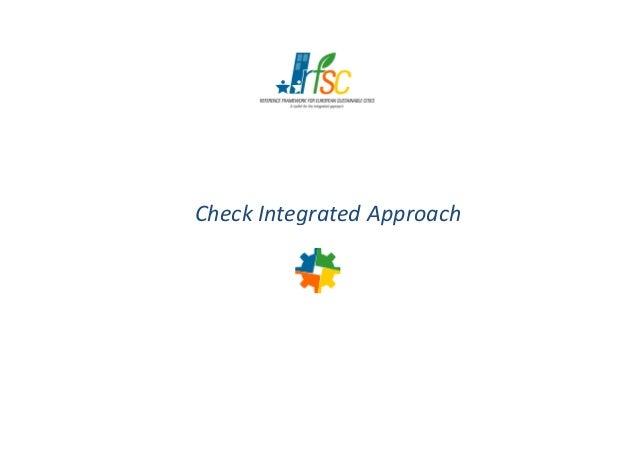 Check Integrated ApproachCheck Integrated Approach