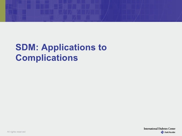Module iii complications of dm