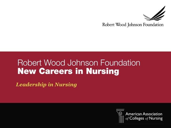 Module v   leadership in nursing