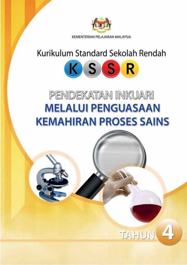 KEMENTERIAN PELAJARAN MALAYSIAKurikulum Standard Sekolah RendahMODUL PENGAJARAN & PEMBELAJARANPENDEKATAN INKUARIMELALUIKEM...