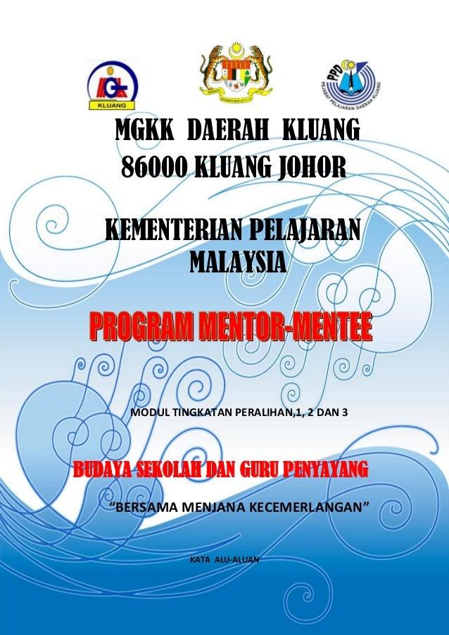 MGKK DAERAH KLUANG    86000 KLUANG JOHOR   KEMENTERIAN PELAJARAN          MALAYSIA      MODUL TINGKATAN PERALIHAN,1, 2 DAN...