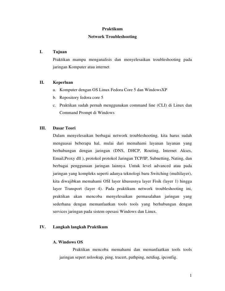 Modul Network Troubleshooting 2