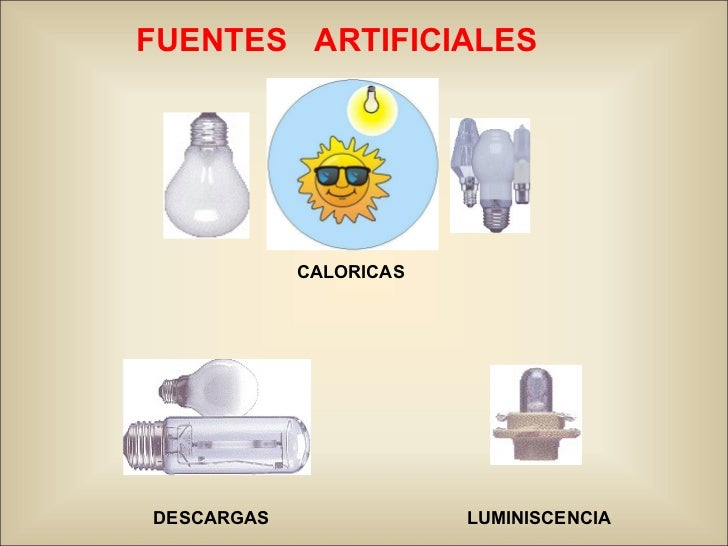 Modulo 03 fuentes de luz jul 2010 for Fuentes artificiales