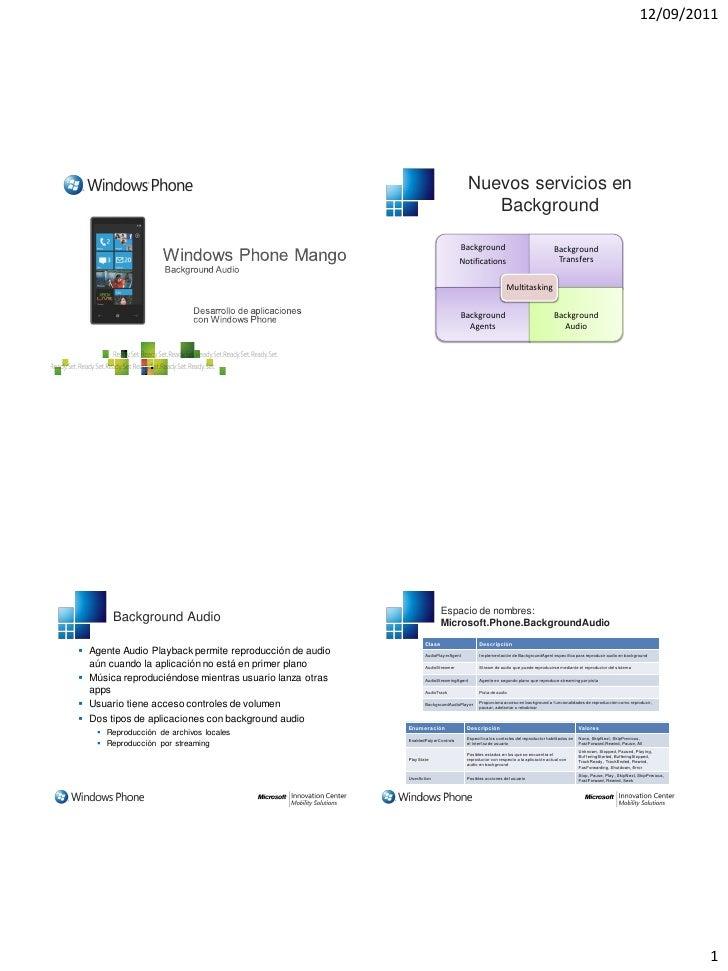 12/09/2011                                                                                     Nuevos servicios en        ...