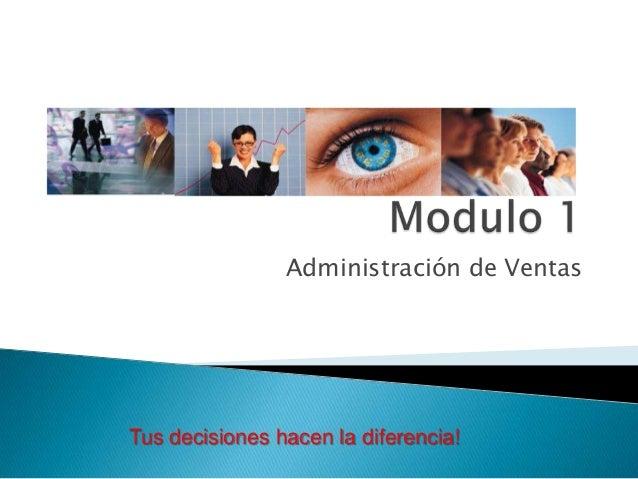 Modulo 1 administracion de ventas 1.5