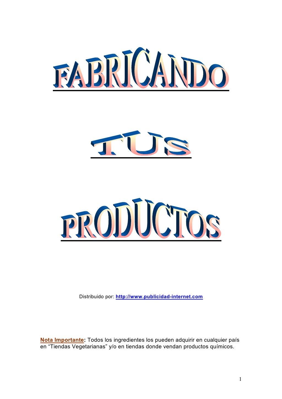 Modulo (1)  formulas fabricacion2