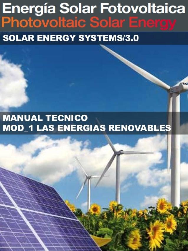 Modulo  1  las energias renovables