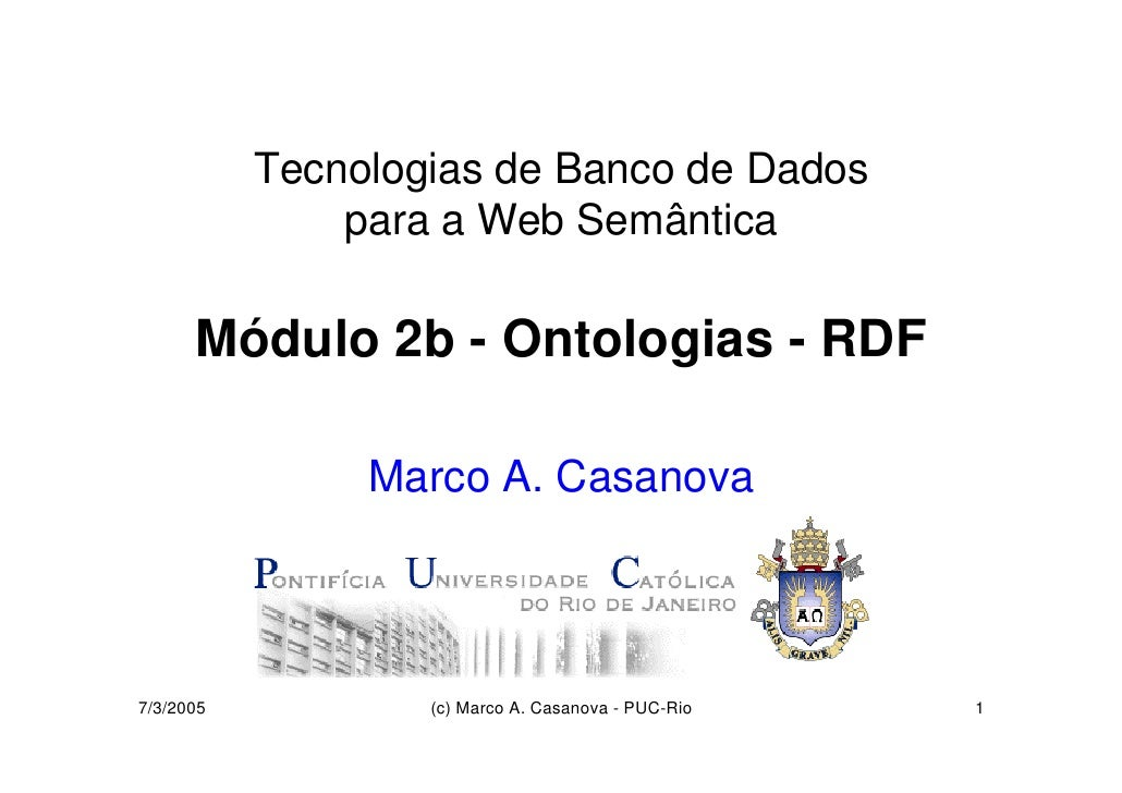 Ontologias - RDF