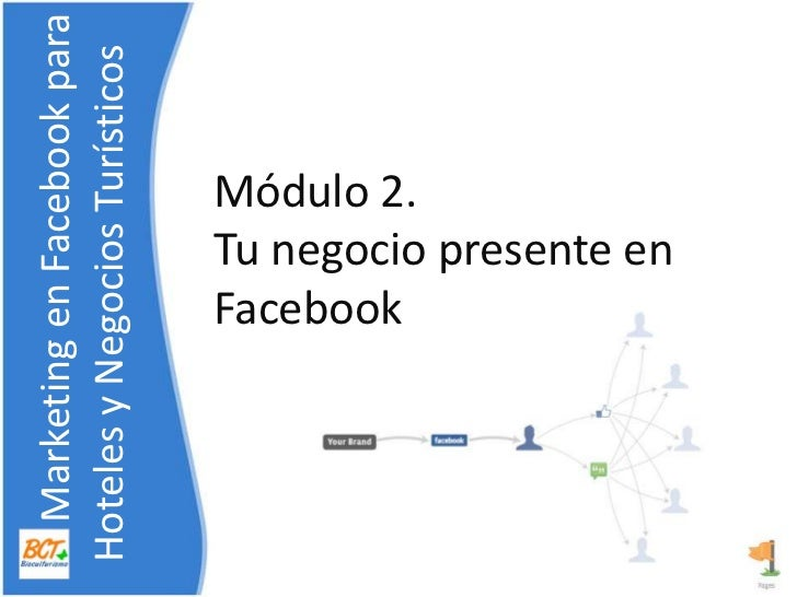 Módulo 2. Tunegociopresente en Facebook<br />    Marketing en Facebook para    Hoteles y NegociosTurísticos<br />