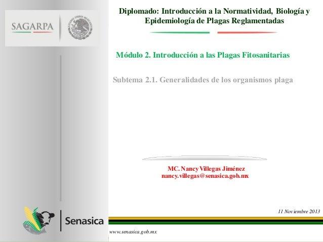 Modulo 2 presentación 1 conceptos de plagas_nancy villegas
